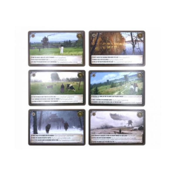 Scythe: Karty promocyjne: Dodatkowe karty spotkań
