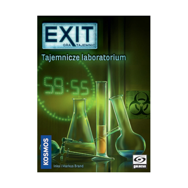 EXIT Gra tajemnic: Tajemnicze laboratorium