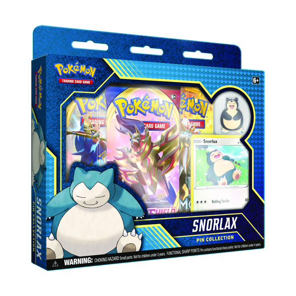 Pokemon TCG: Sword & Shield - Rebel Clash Pin Collection - Snorlax