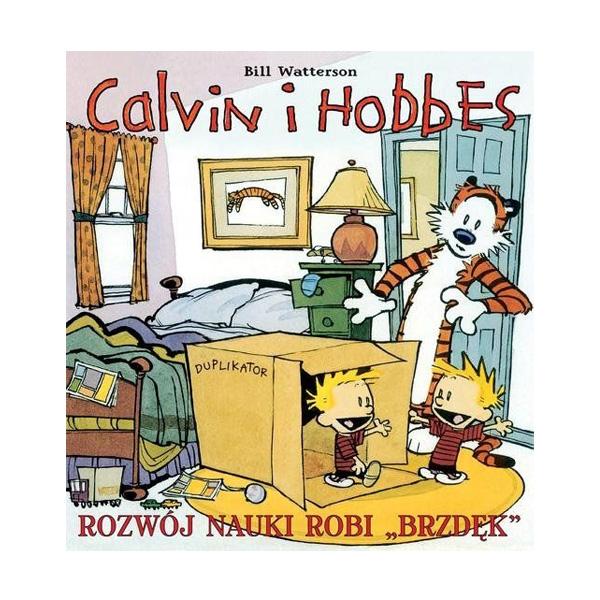 Calvin i Hobbes. Rozwój nauki robi brzdęk. Tom 6