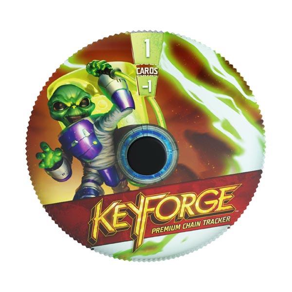 KeyForge - Premium Mars Chain Tracker