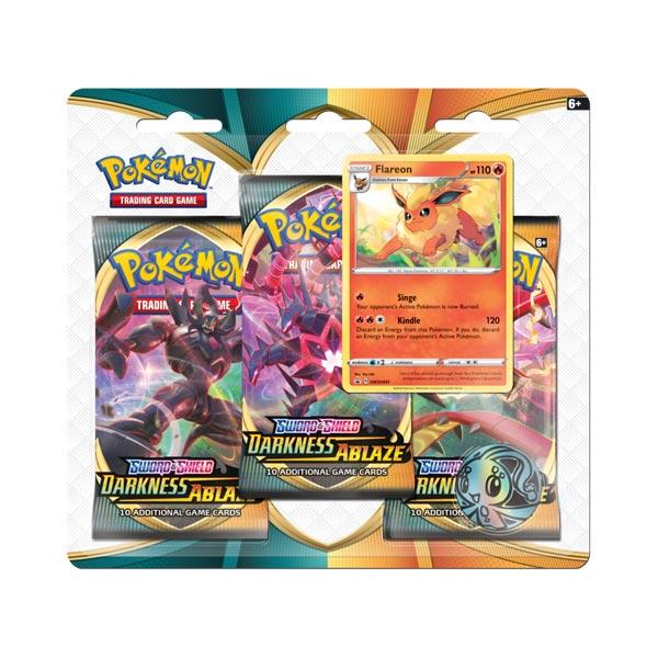 Pokemon TCG: Darkness Ablaze - 3-pack Flareon